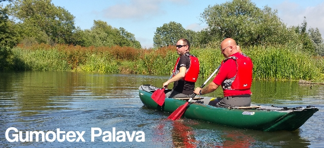 Gumotex Palava Inflatable Canoes available from Inflatable Kayaks UK