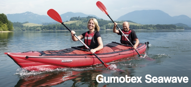 Gumotex Seawave Inflatable Kayaks available from Inflatable Kayaks UK